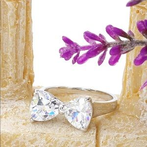 Ocean Fashion Jewelry - Stylish ladies sweet bow knot ring